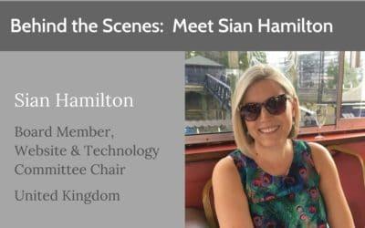 Behind the Scenes: Meet Sian Hamilton