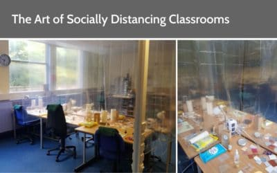 The Art of Socially Distancing Classrooms