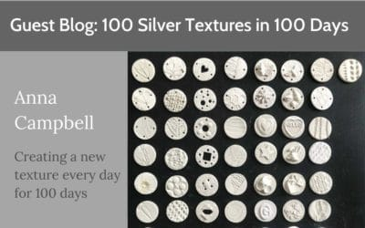 100 Silver Textures In 100 Days