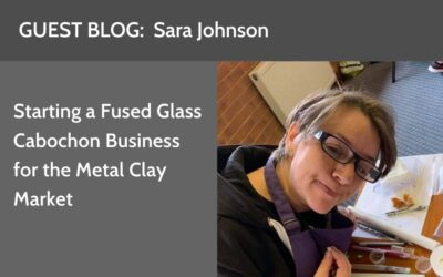 From Metal Clay Hobbyist to Running a Successful Fused Glass Business