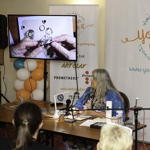 Lisel teaching at YCMI 2018