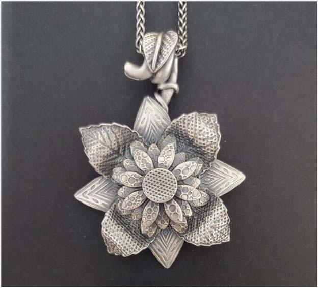 Silver clay design by Michael Marx